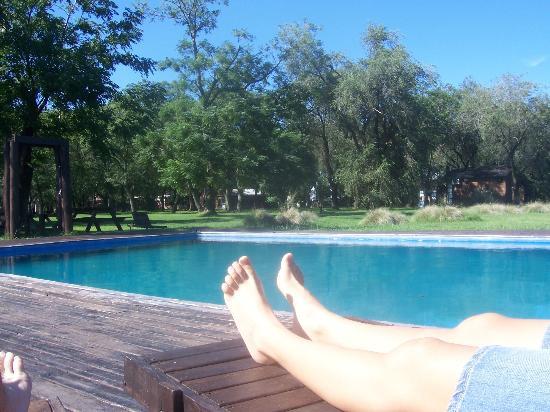 Arrecifes, Argentina: piscina muy grande