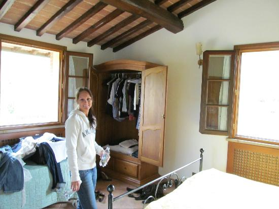 Residence Santa Maria : Our room was very large and the two windows added so much natural  lighting.