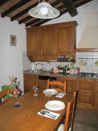 Residence Santa Maria: Kitchen.