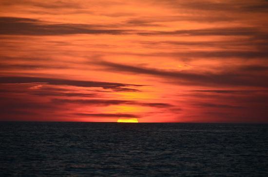 Beach at Panama City : Sunset at Panama City Beach