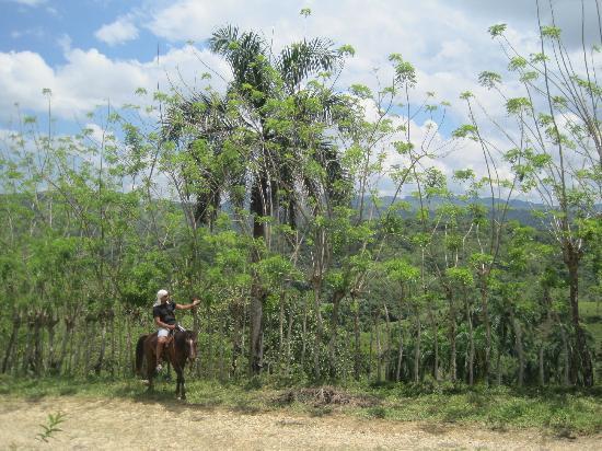 Sereno de la Montana: horse-back riding