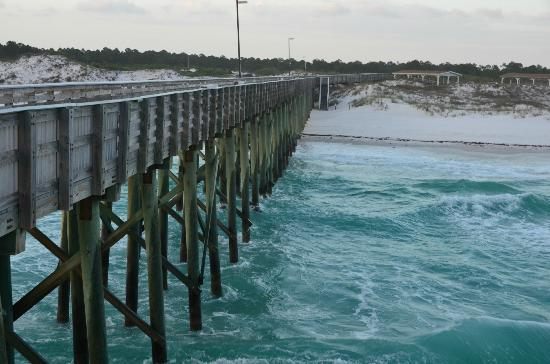 Fishing pier st andrews state park picture of st for Panama city beach pier fishing report