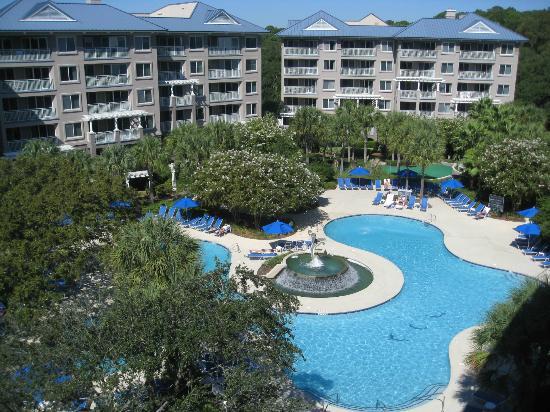Marriott's Grande Ocean : Dolphin pool-our favorite