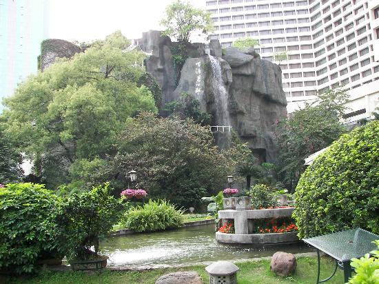 Gardnes waterfall Picture of The Garden Hotel Guangzhou