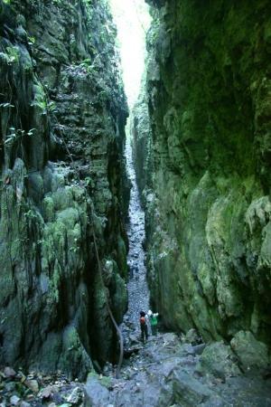 Nitun Private Reserve : Gorge of Aguateca, Petexbatún, Guatemala