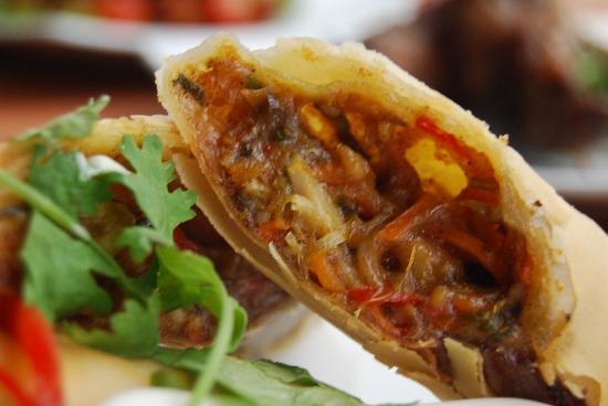 Havana Music Cafe: Cigarros - Vegetarian Spring Rolls