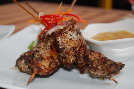 Havana Music Cafe: jerk Chicken