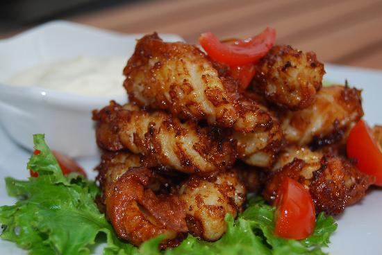 Havana Music Cafe: Chilli Salt Squid