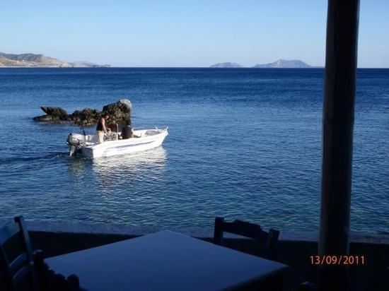 Kerames, Grecia: chef's gone to get fresh fish