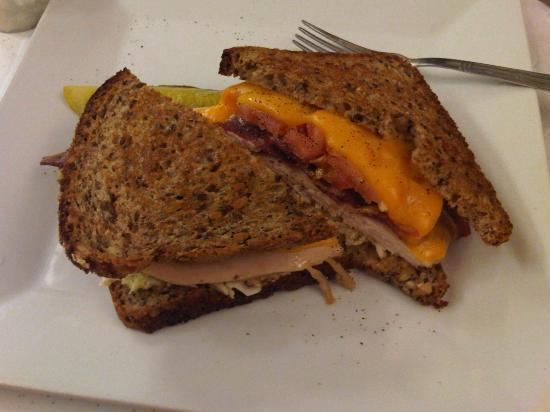 EJ's Luncheonette : Turkey Melt on Whole Grain Bread