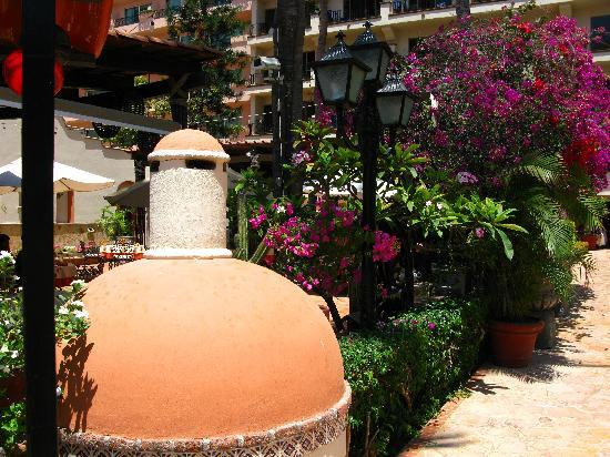 Vallarta Torre : also outside of the restaurant