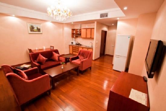 Renion Residence Hotel: living room