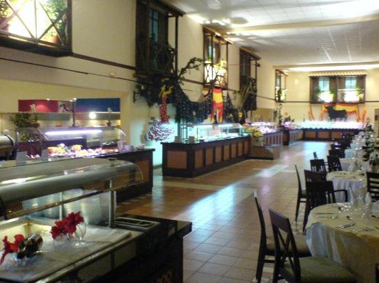 Aldiana Fuerteventura: oberer Speisesaal
