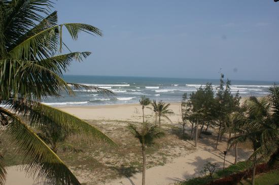 Furama Resort Danang : Aussicht vom Balkon