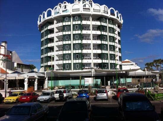 La Rana: fachada