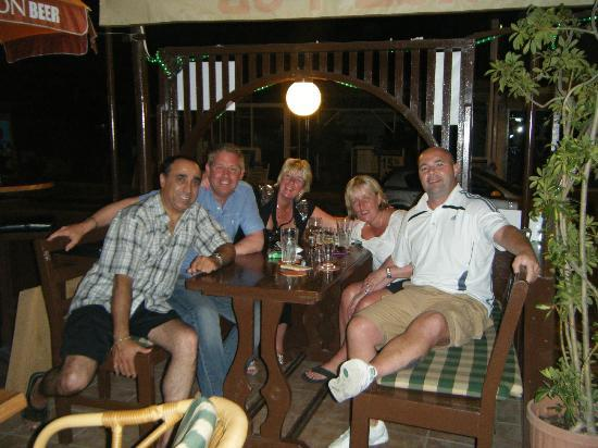 Yia-Mas George's Pub Protaras Cyprus: great late night at yia mas with great friends and great bar owner george