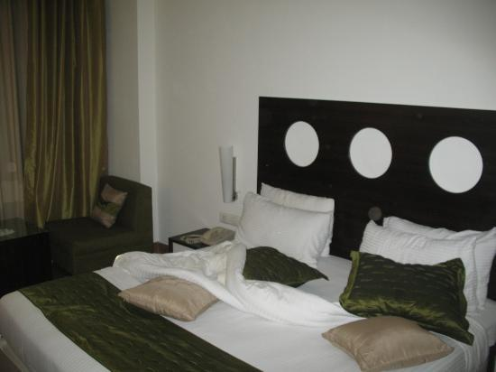 Silver Ferns Hotel : Bed