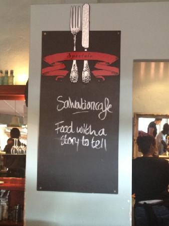 SalvationCafe: Food with a great story to tell