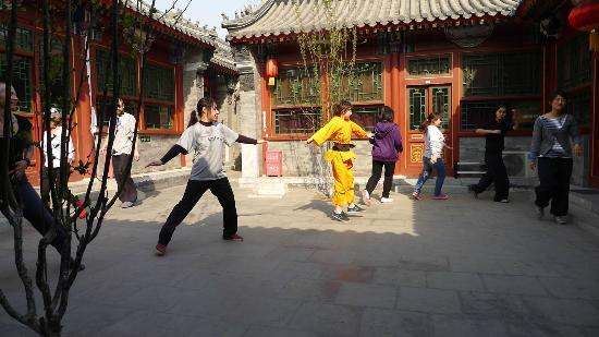 Fly by Knight Courtyard Beijing: kung fu