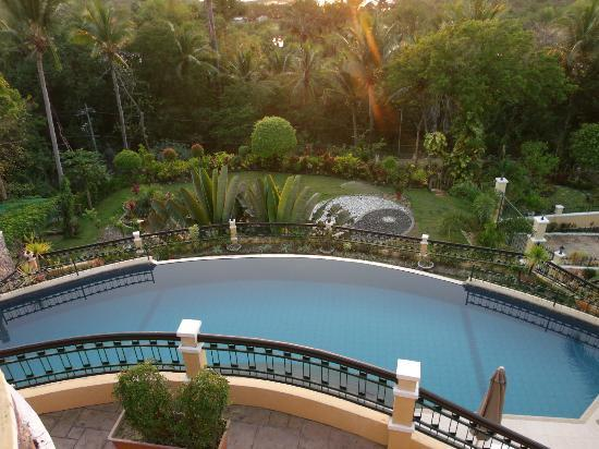 The Manor at Puerto Galera: Pool view from above