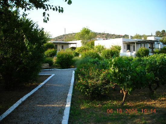 Niriides Hotel: Garden
