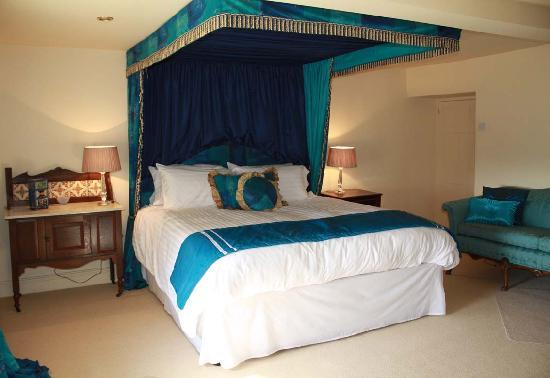 Cwrt Mawr Mansion Bed & Breakfast: The Blue Room
