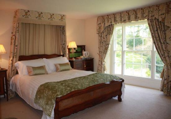 Cwrt Mawr Mansion Bed & Breakfast: The Garden Room