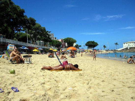 """Pousada des Arts : Strand """"Porto da Barra"""""""