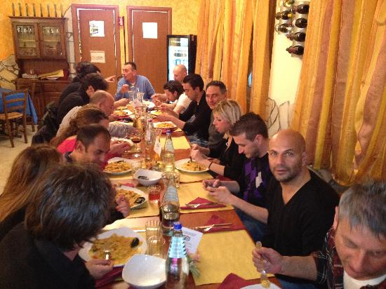 Gryfood Risto-Pizza: serata della paella catalana