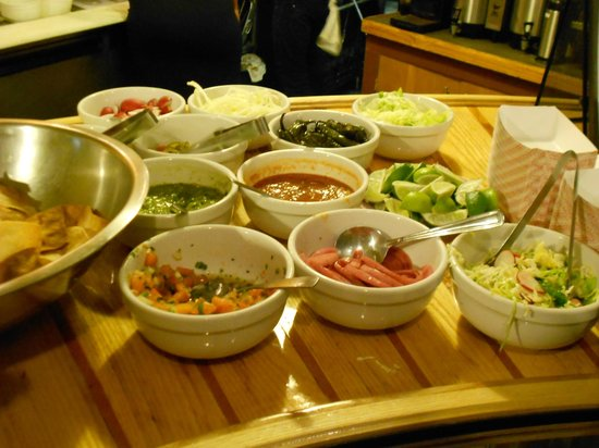 The Brass Buckle: Taco toppings