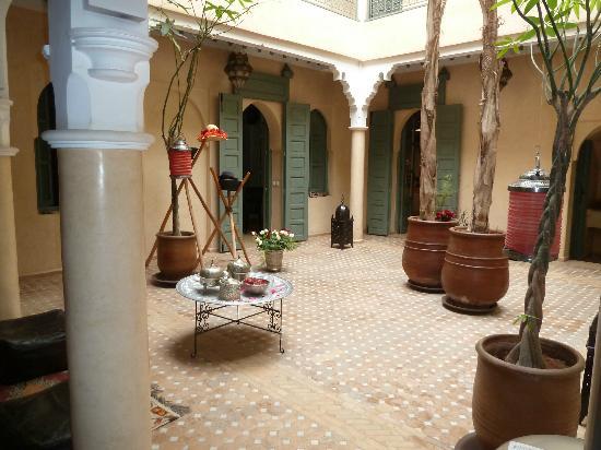 Riad Kerdouss: vue du patio