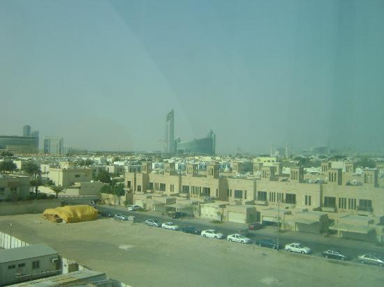 Premier Inn Dubai International Airport Hotel: Burg Kalifa can be seen at distance.