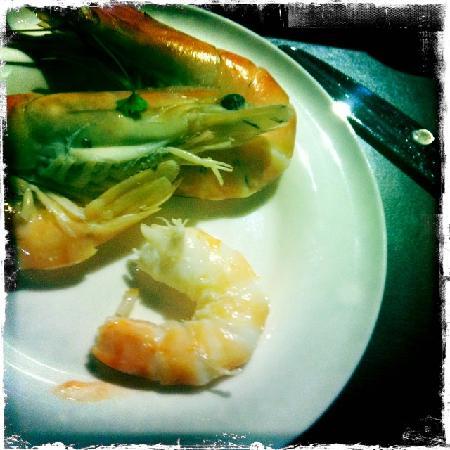 Sole Restaurant & Bar: pint of prawns