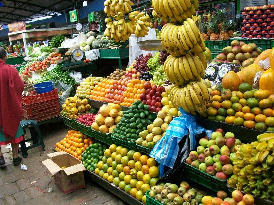 Spectacular Colors At The Fruit Market Picture Of