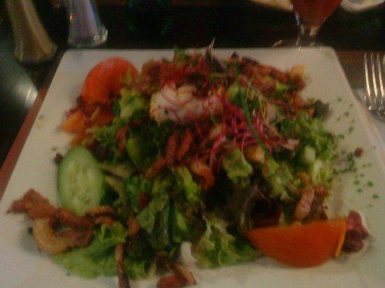 Brussels Grill: salade fruit de mer/ sea food salad
