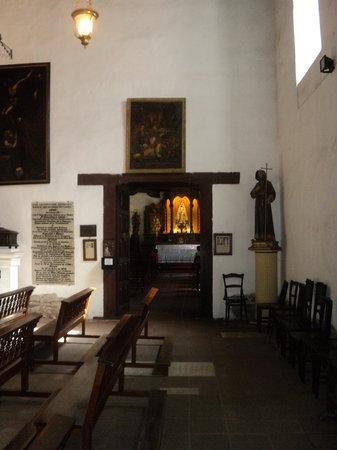 Convento San Francisco: Camarín de la Virgen de Garay- Iglesia San Francisco - Santa Fe