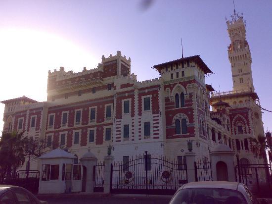 King Farouk Palace: the palce