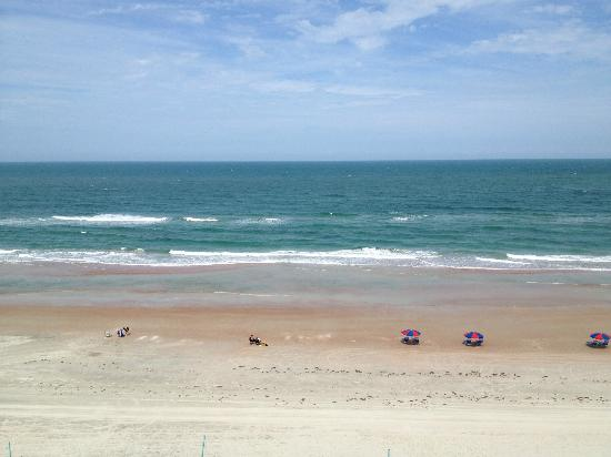 Daytona Beach Resort and Conference Center: View from room balcony