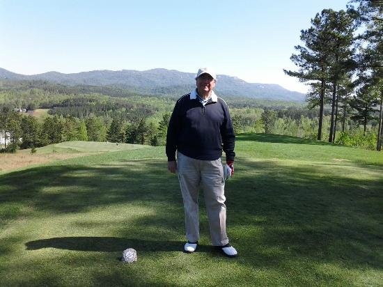 Cherokee Valley Golf Club: Mountain Panorama from Elevated Tee