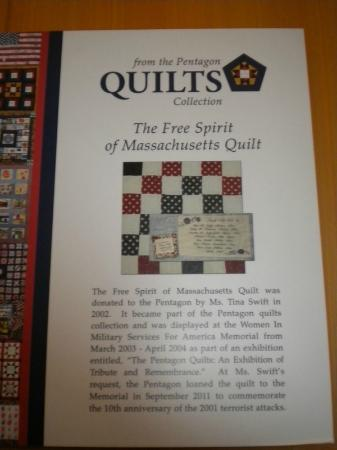 Women in Military Service for America Memorial : Quilts