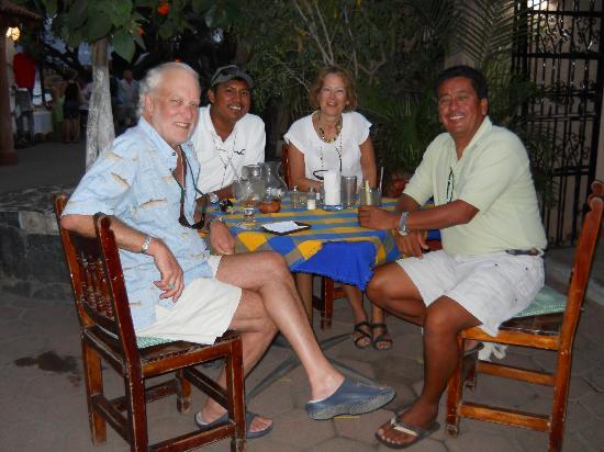 El Arbolito: Puol franklin Sandy franklin Capitan temo y Jose Manuel