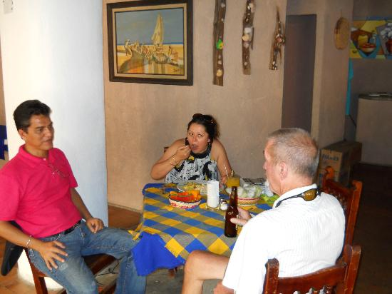 El Arbolito: the owner and his wife  Pedro  and Jouseh
