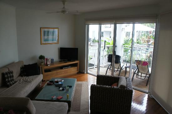 Beaches: living area