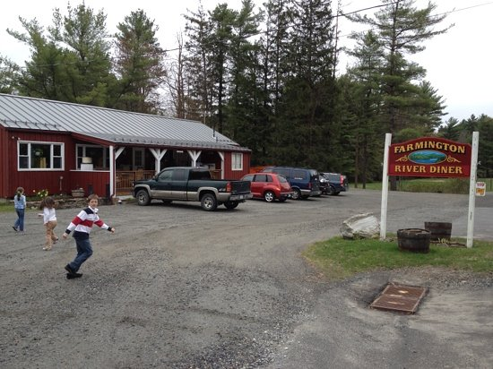 Otis, Массачусетс: Farmington river diner