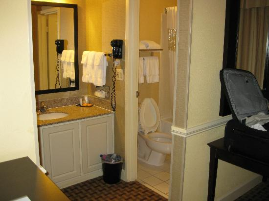 La Quinta Inn & Suites Atlanta Airport: Bathroom