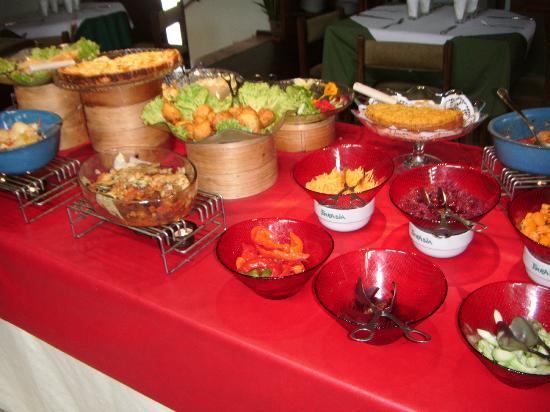 Eurasia : Buffet dishes