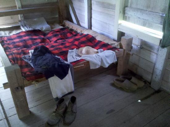 Rental Cars Salt Lake City >> inside a slave cabin - Picture of Oakley Plantation, Saint ...
