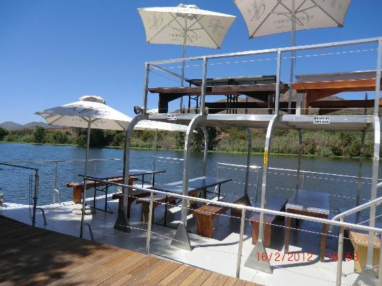 Viljoensdrift Wine Farm: Picknickboot
