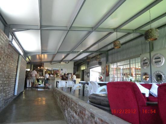 Viljoensdrift Wine Farm: Empfangsraum