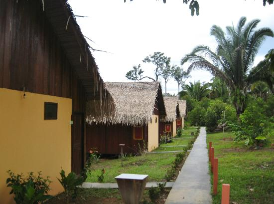 Amazon Turtle Lodge: Bungalows